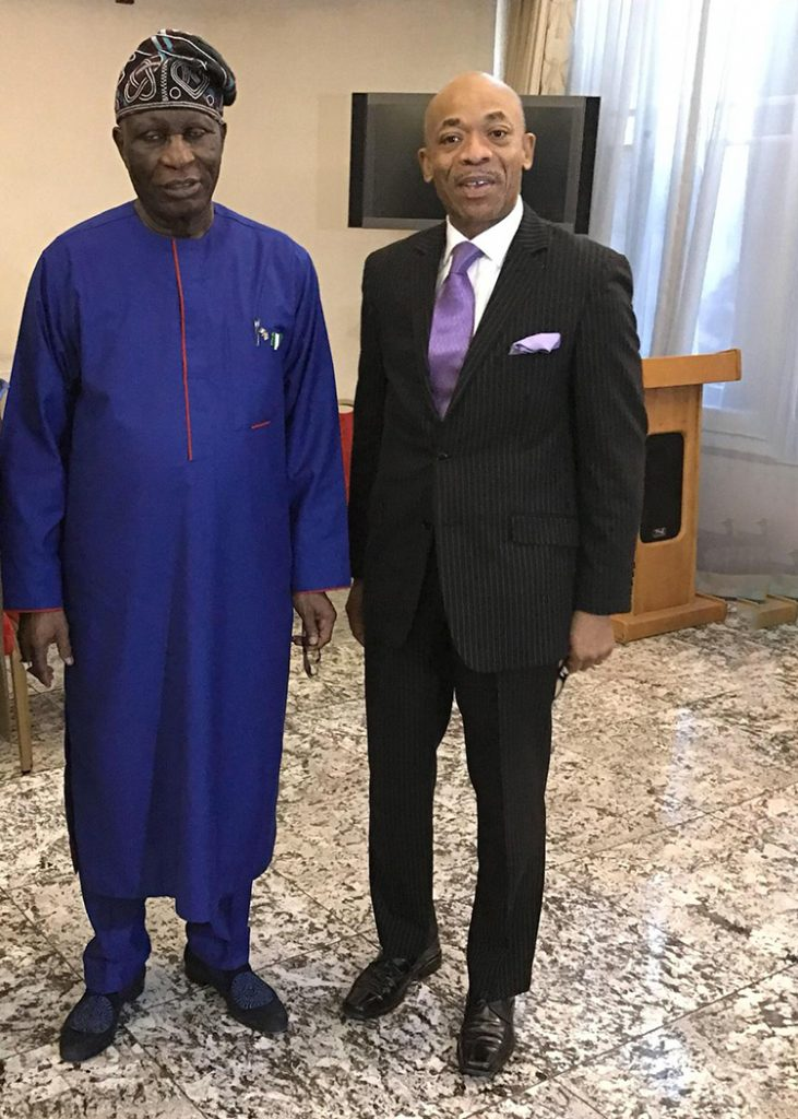 Nigerian High Commissioner in the UK to Host NBBF Members